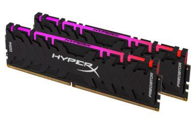 RAM 32 GB HyperX DDR4 Predator RGB 3600 MHz 2x 16 GB