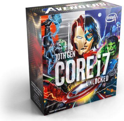 processeur i7 10700k 3.8 GHz Avengers edition